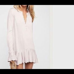 💜Free People TrueGether  Lavender Tunic💜